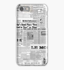 Newsprint iPhone Case/Skin