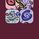 flowers, once again by sabrina card