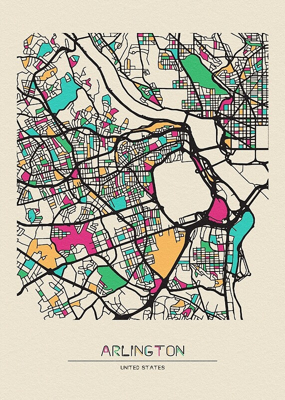 Arlington County, Virginia Street Map | Art Print on map of leesburg va, map of city of charlottesville va, map of annandale va, map of galax city va, map of springfield va, map of waynesboro city va, map of virginia beach va, map of virginia counties va, map of fairfax va, map of city of suffolk va, map arlington va 22203, map of centreville va, map of richmond va, map of alexandria va, map of town of blacksburg va, map of norfolk va, map of hampton va, map of chesapeake va, map of anne arundel county md, map of city of lynchburg va,