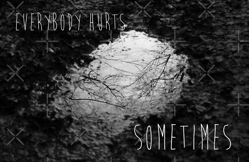 Everybody Hurts Sometimes by Denise Abé