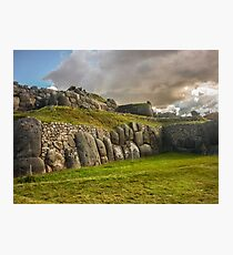 Sacsayhuaman Inca Fortress Photographic Print
