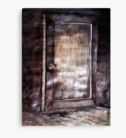 BEDROOM DOOR AT GRANDMA RUTH'S Canvas Print