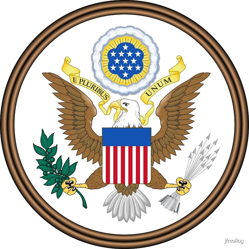 Great Seal of the United States by jfmolloy