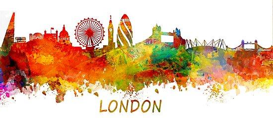 London skyline by JBJart