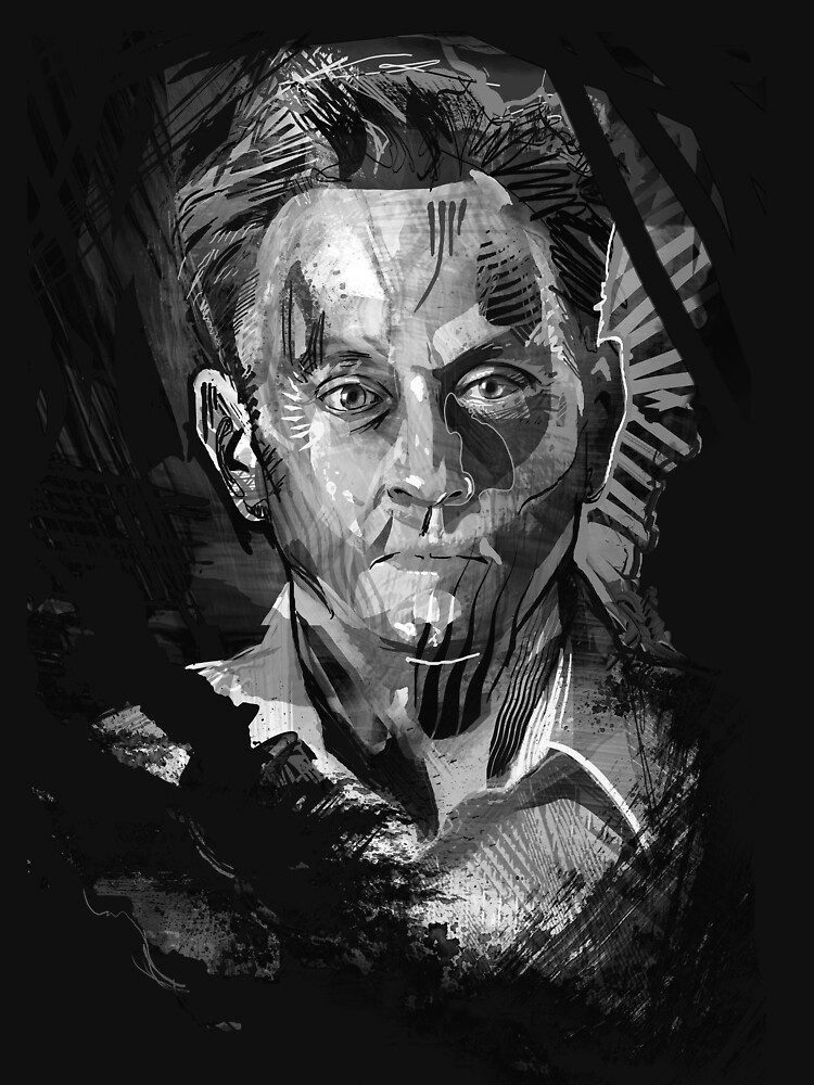 Ben Linus Portrait From Lost T-Shirt