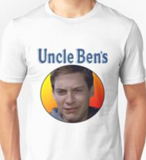Tobey Maguire's Uncle Ben's Unisex T-Shirt