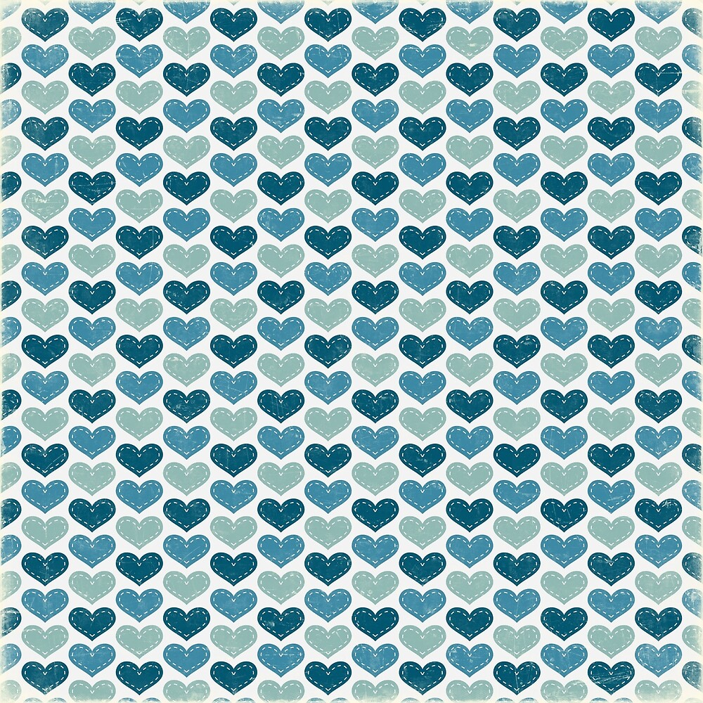 Blue Pattern  by AbstractCreatur