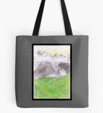 Mountain scenery Tote Bag