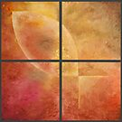Golden Fish: Tetraptych by RodneyCleasby