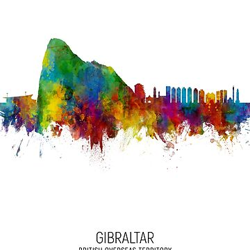 Skyline de Gibraltar de ArtPrints