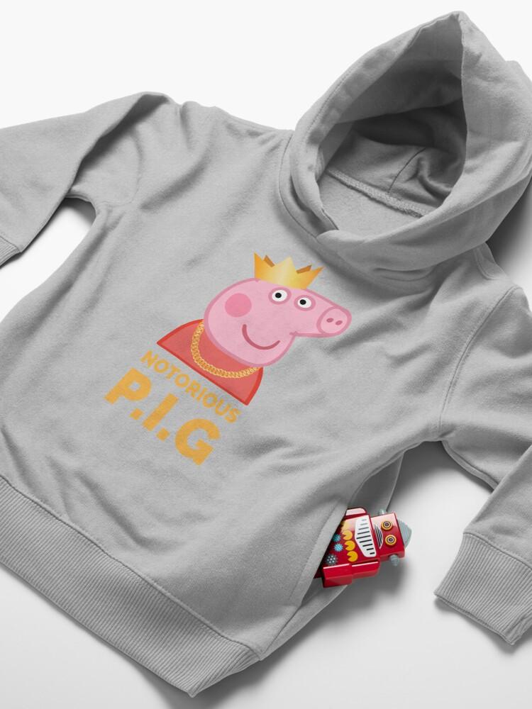 Alternate view of Notorious Peppa Pig Toddler Pullover Hoodie
