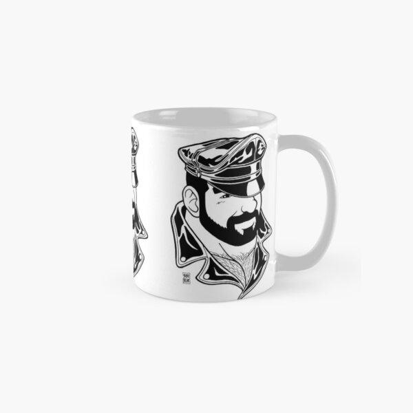 ADAM LIKES LEATHER - LINEART Classic Mug