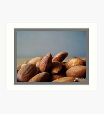 almonds Art Print