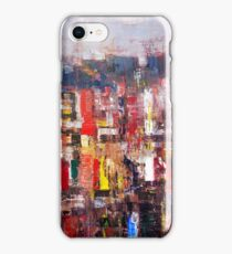 Blue ruins of the past iPhone Case/Skin
