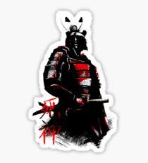 Shinigami Samurai Sticker