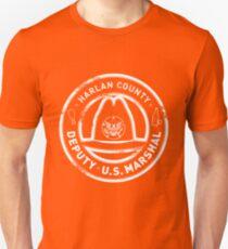 Harlan County Deputy US Marshal Grunge Unisex T-Shirt