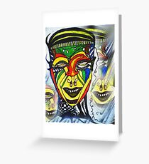 Mexican Carnivale Greeting Card