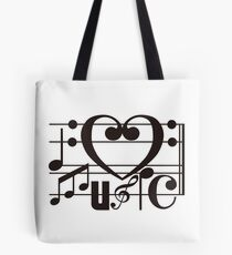 I LOVE MUSIC Tote Bag