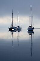 Anchored - Eastern Beach Geelong by Graeme Buckland