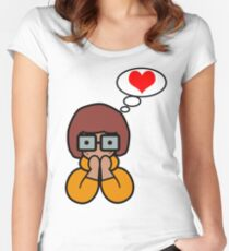 Velma Women's Fitted Scoop T-Shirt