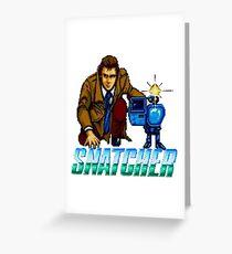 Snatcher - SEGA CD Greeting Card