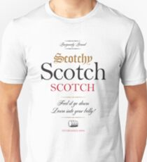 Scotchy Scotch Scotch - Ron Burgundy Unisex T-Shirt
