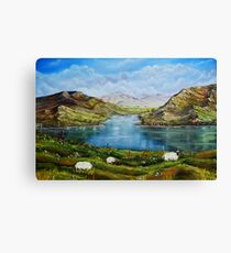 """Connemara Spring, Ireland"" - oil painting Canvas Print"