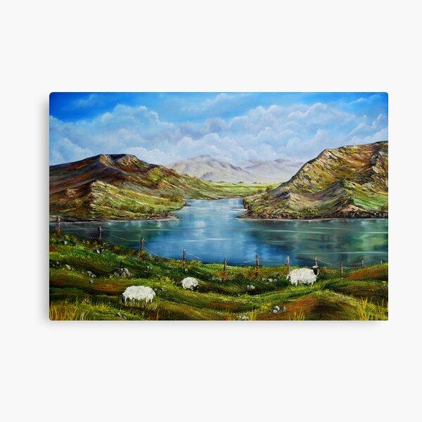 """Connemara Spring, Ireland"" - oil painting Canvas Print"
