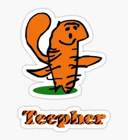 Teepher Tiger Sticker