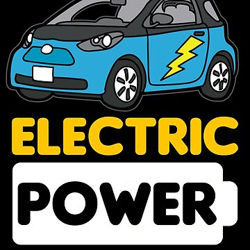 ELECTRIC POWER CAR Auto Vehicle by Moonpie90
