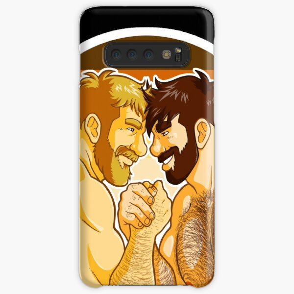 ADAM AND MIKE LIKE ARM WRESTLING BEAR PRIDE - CIRCLE Samsung Galaxy Snap Case