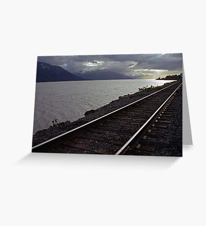 Alaska Rail Greeting Card