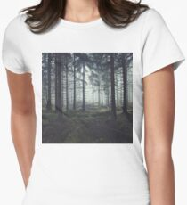 Through The Trees Women's Fitted T-Shirt