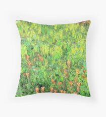 Mesquite And Paintbrushes Throw Pillow