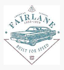 Ford Fairlane 1967 - Built for Speed Fotodruck