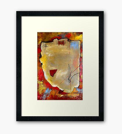 Peace Piece Framed Print