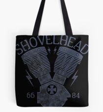 Shovelhead Motorcycle Engine Tote Bag