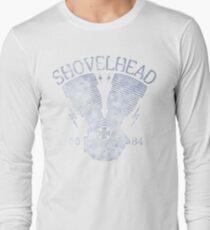 Shovelhead Motorcycle Engine Langarmshirt