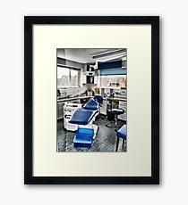 Dentist Chair Framed Print