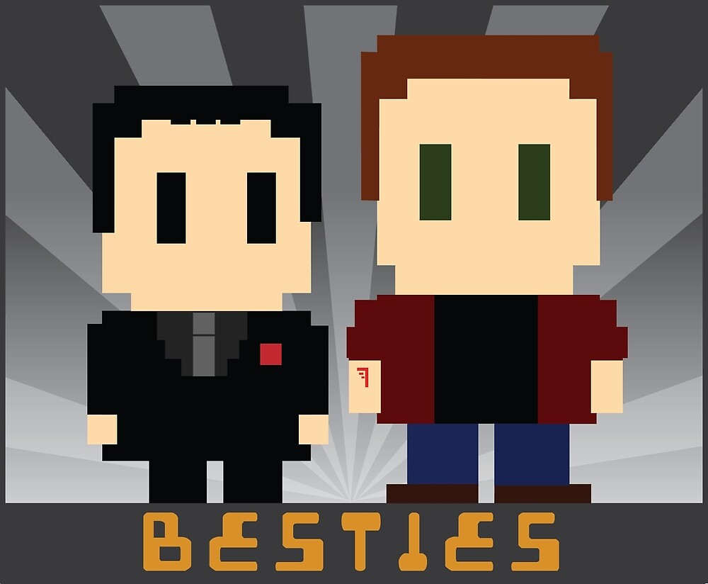Besties by hellhoundpit