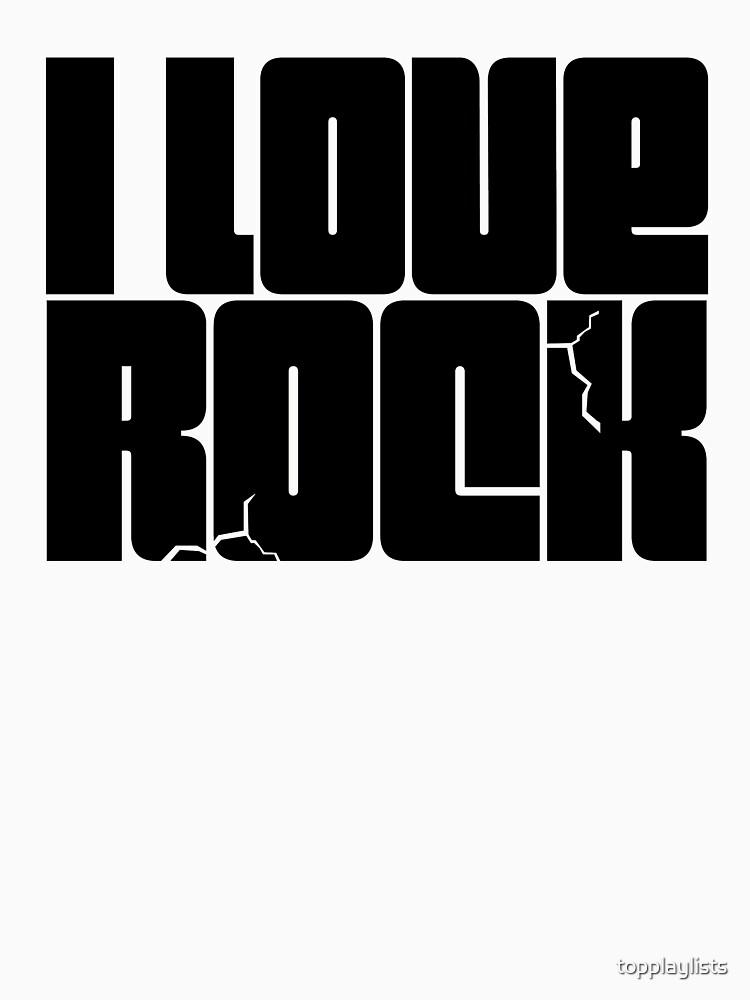 I LOVE ROCK de topplaylists