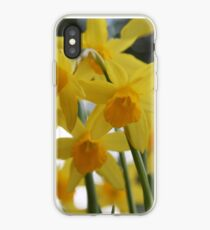 Golden Spring iPhone Case