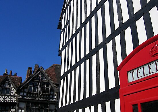 Sheep Street, Stratford-upon-Avon, England by hjaynefoster