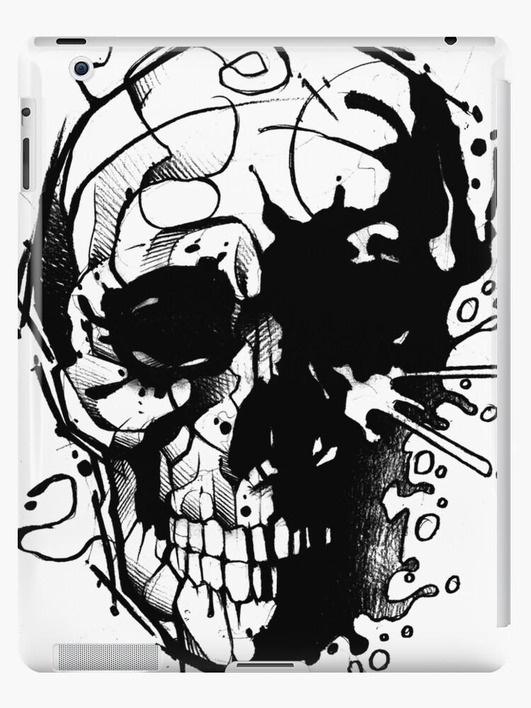 Splatter Skull by Jeremy Harburn