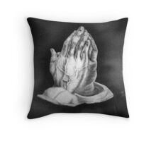 Our Father's Hands Throw Pillow