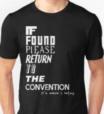 If Found 2- White T-Shirt