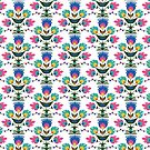Polnische Volksblumen von purplesparrow
