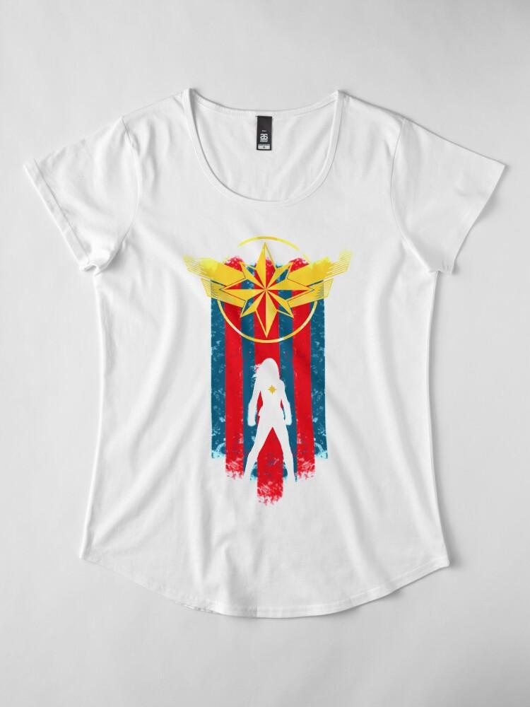 Alternate view of A Real Heroine Premium Scoop T-Shirt