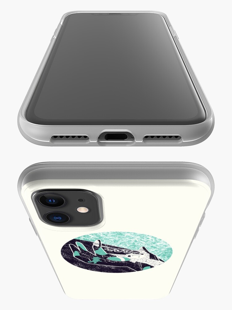 Alternate view of On the hand iPhone Case & Cover