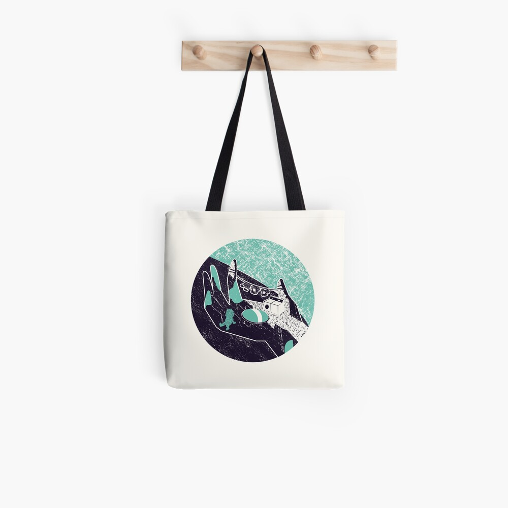 On the hand Tote Bag
